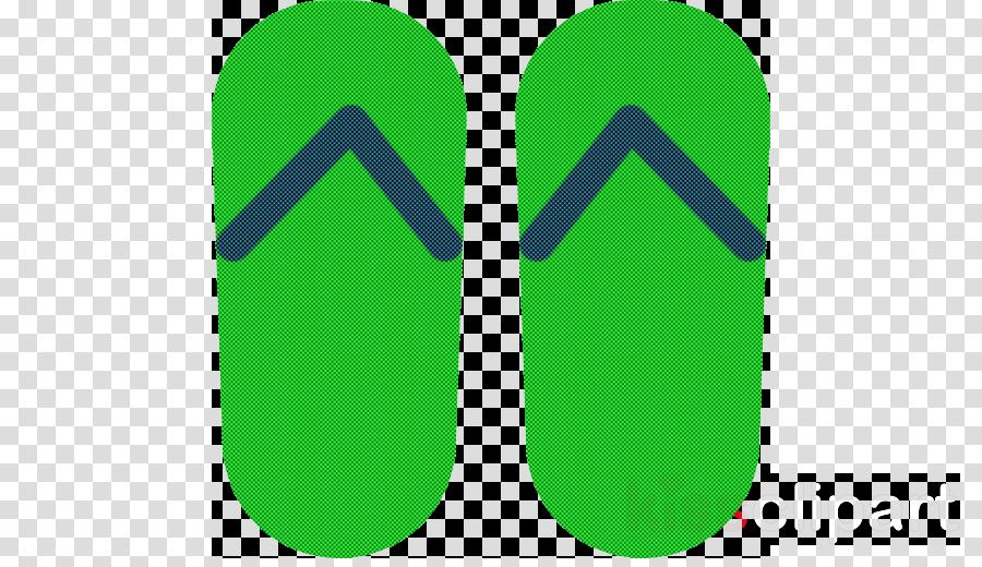 flip-flops logo shoe font green