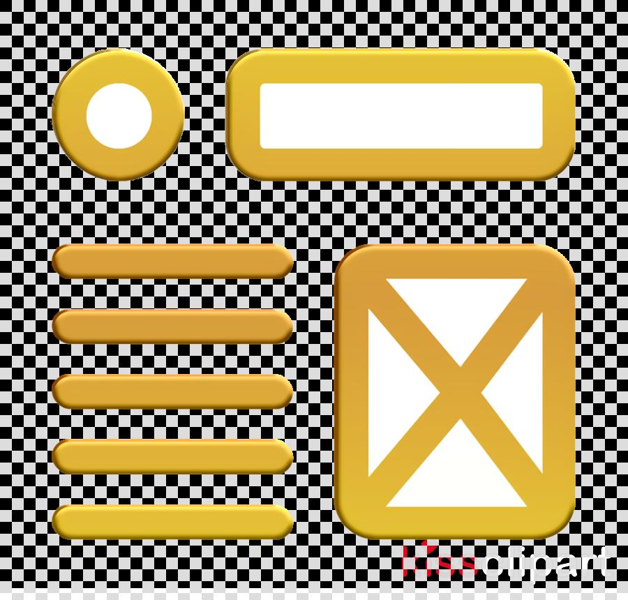 Ui icon Wireframe icon