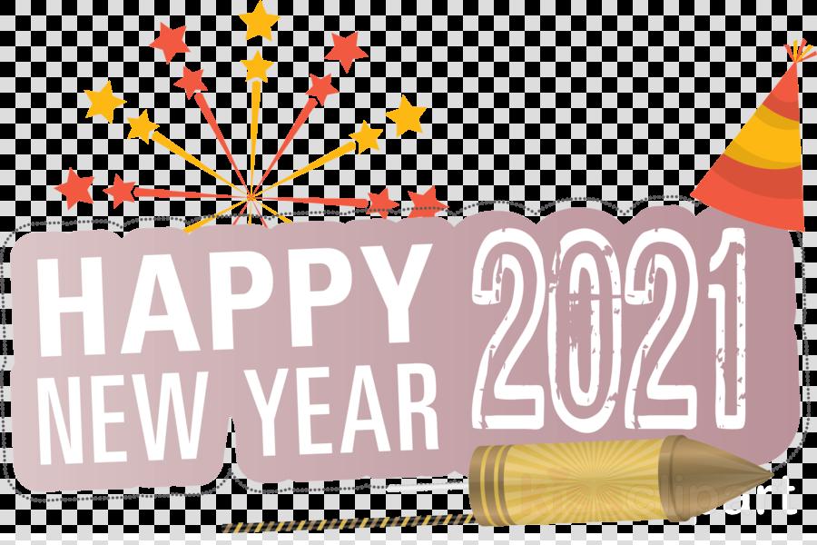 2021 Happy New Year Happy New Year 2021 Clipart New Years Resolution Logo Yellow Transparent Clip Art