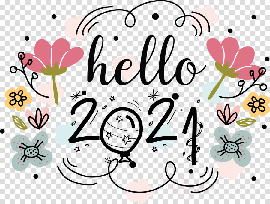 hello 2021 happy new year 2021 clipart drawing floral design kpop transparent clip art hello 2021 happy new year 2021 clipart