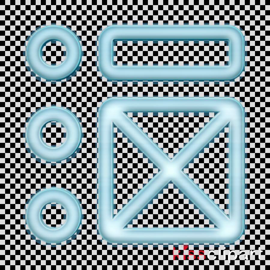 Wireframe icon Ui icon