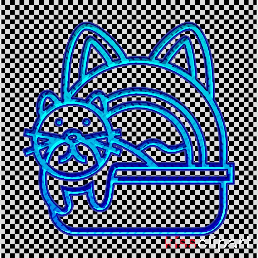 Pet Shop icon Cat icon Litter box icon