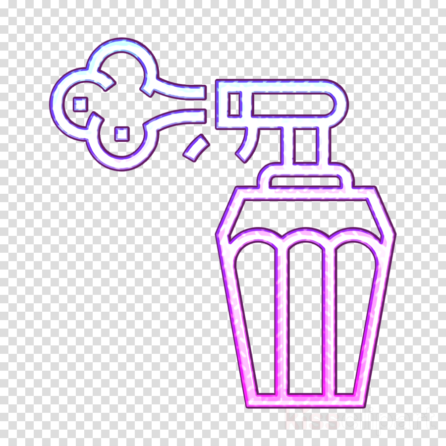 Cleaning icon Perfume icon Parfum icon