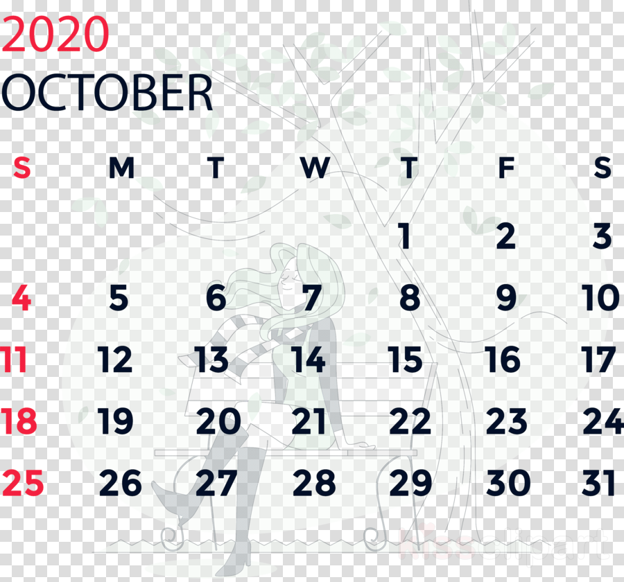 October 2020 Calendar October 2020 Printable Calendar