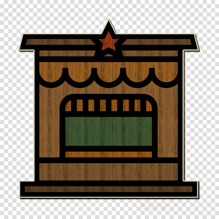 Circus icon Ticket office icon Booth icon
