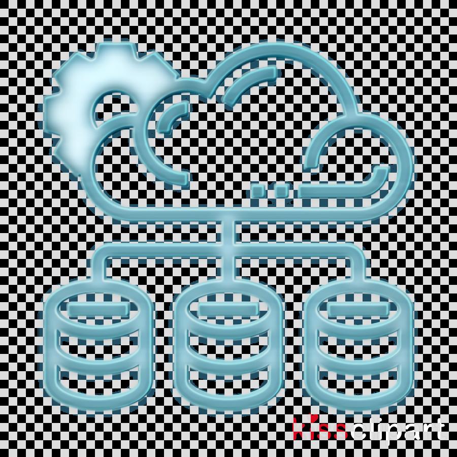 Cloud Service icon Backup icon Database icon