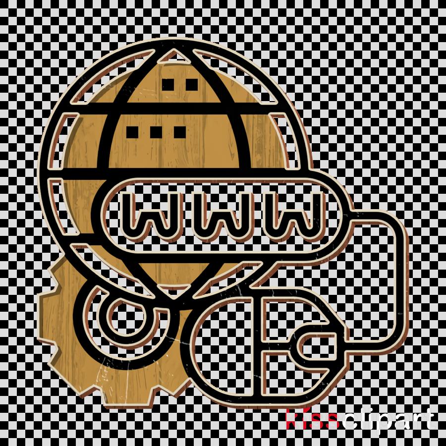 World wide web icon Domain icon Computer Technology icon