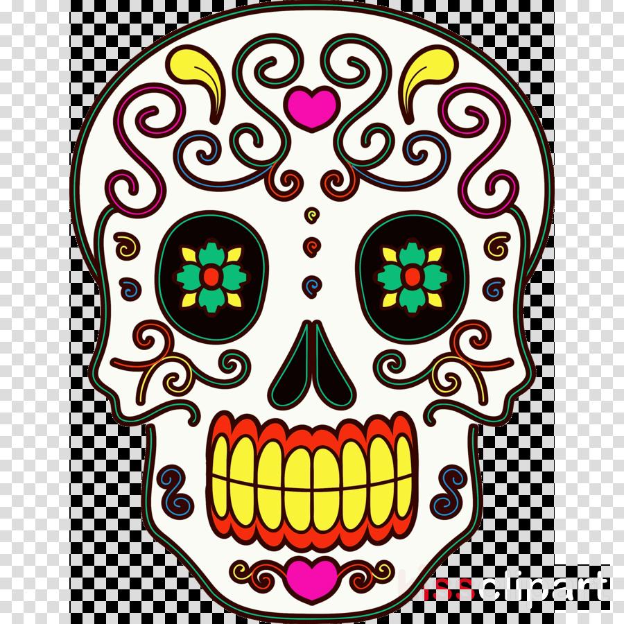 Day of the Dead Día de Muertos Skull