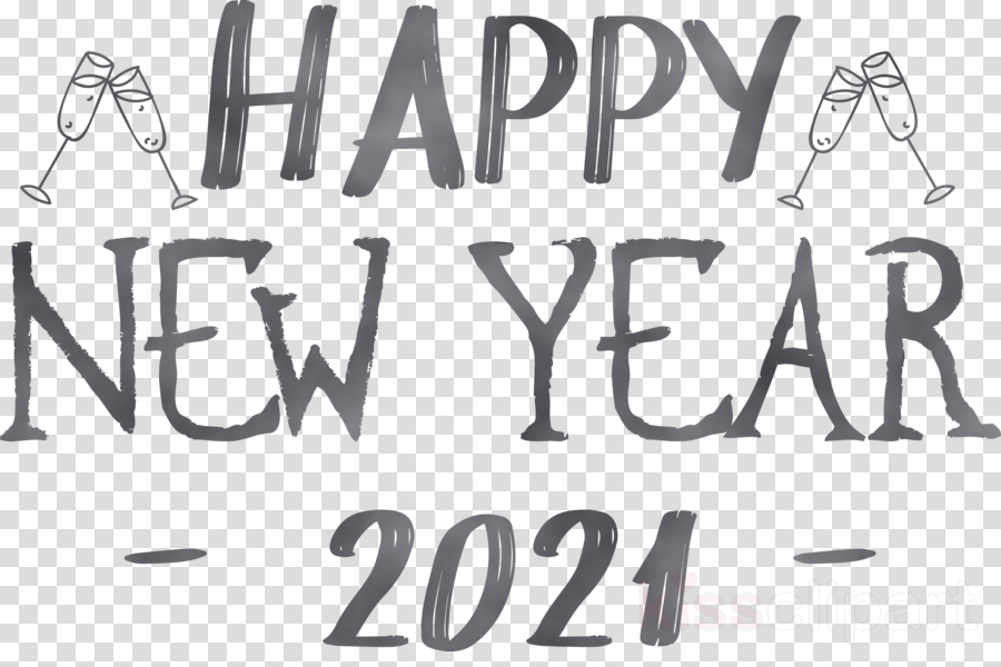 new year clipart black and white m black white m logo transparent clip art kissclipart