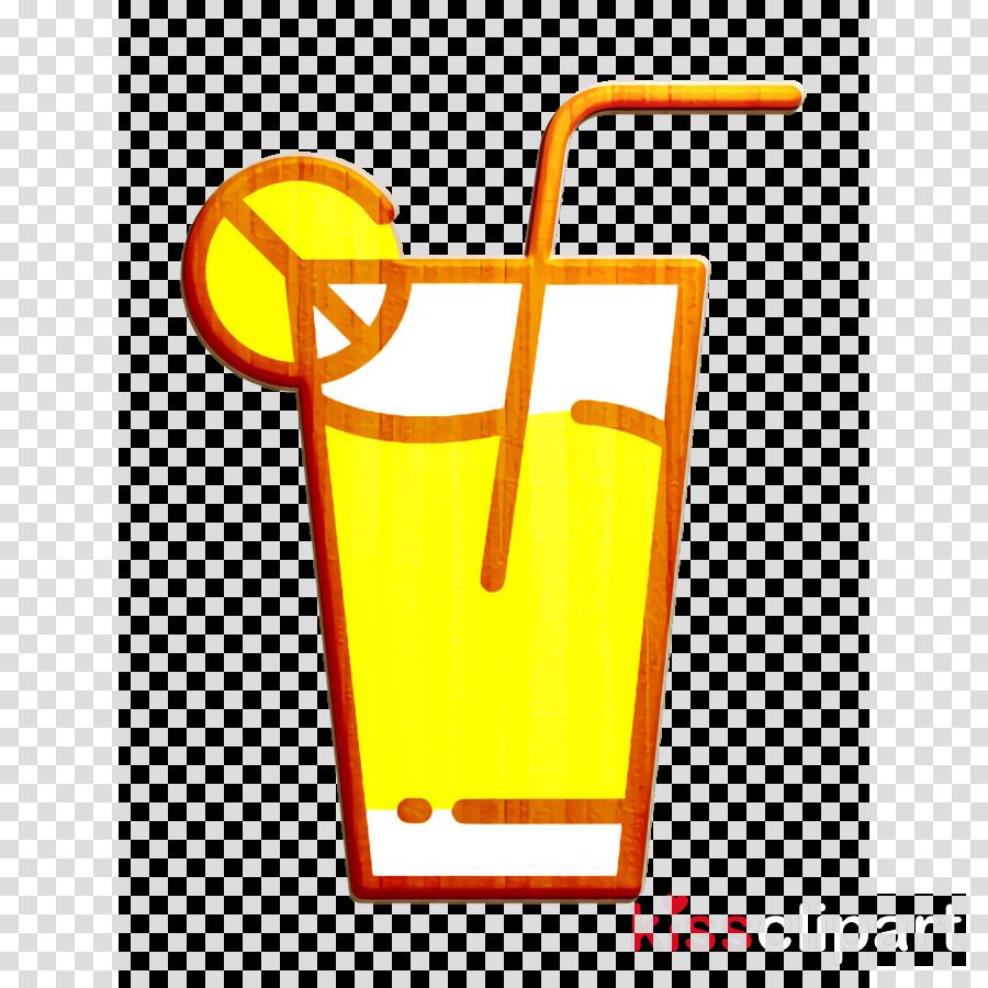 Lemonade icon Summer icon Soda icon
