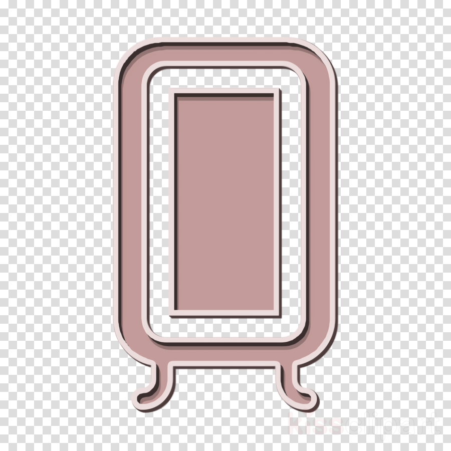 Mirror icon Home Decoration icon Furniture and household icon