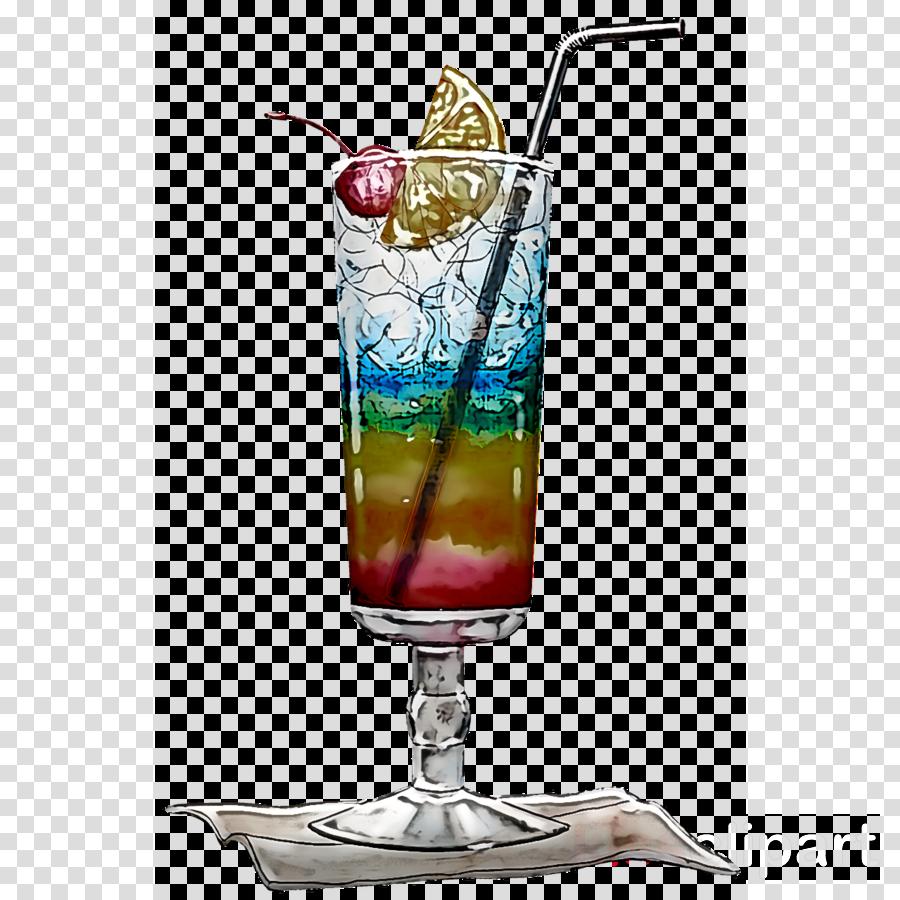 cocktail garnish blue hawaii non-alcoholic drink long island iced tea mai tai