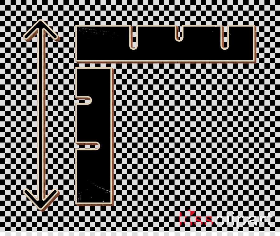 Ruler icon Graphic Design icon