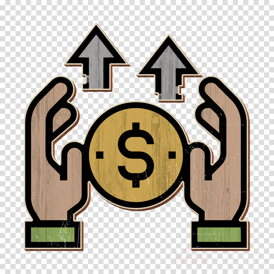 Personal wealth icon Financial Technology icon Money saving icon