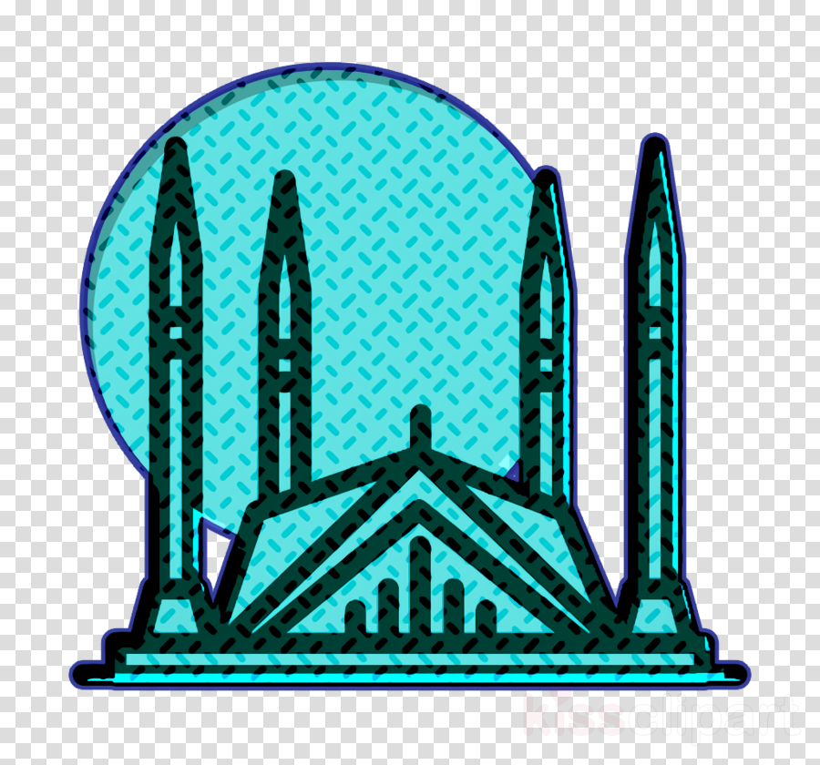 Monuments icon Faisal mosque icon Islamabad icon