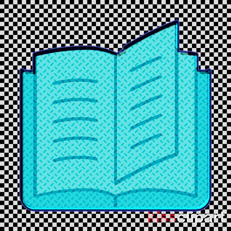 Book icon Education icon Open book icon