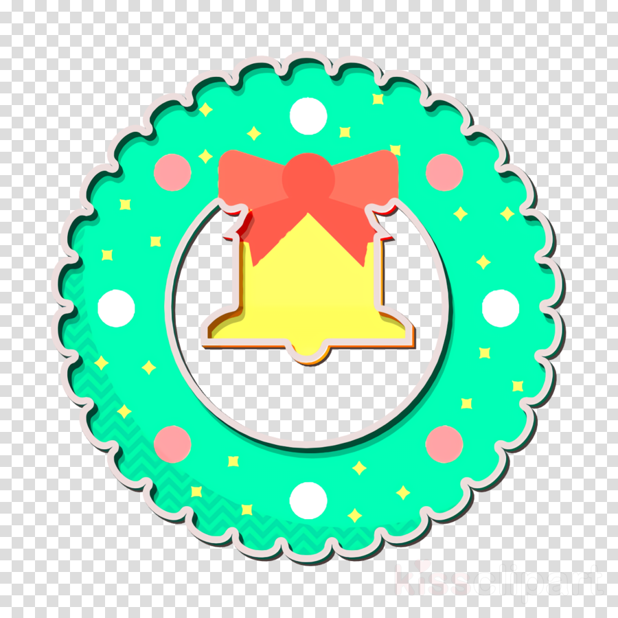 Christmas icon Wreath icon
