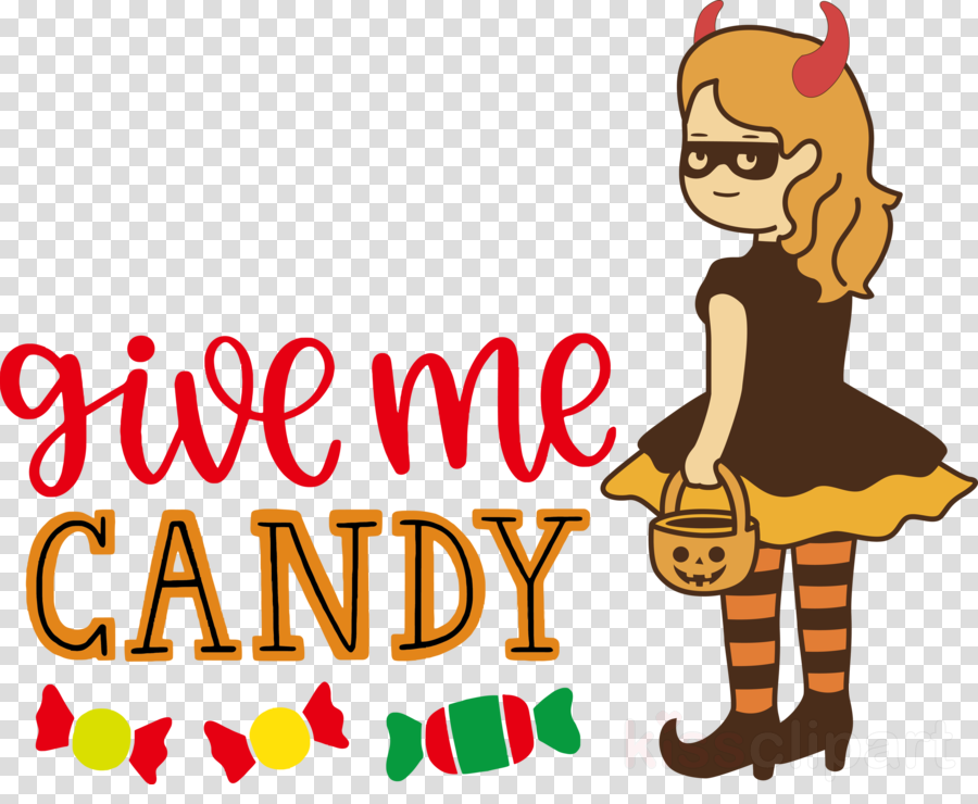 Give me candy Trick or Treat Halloween