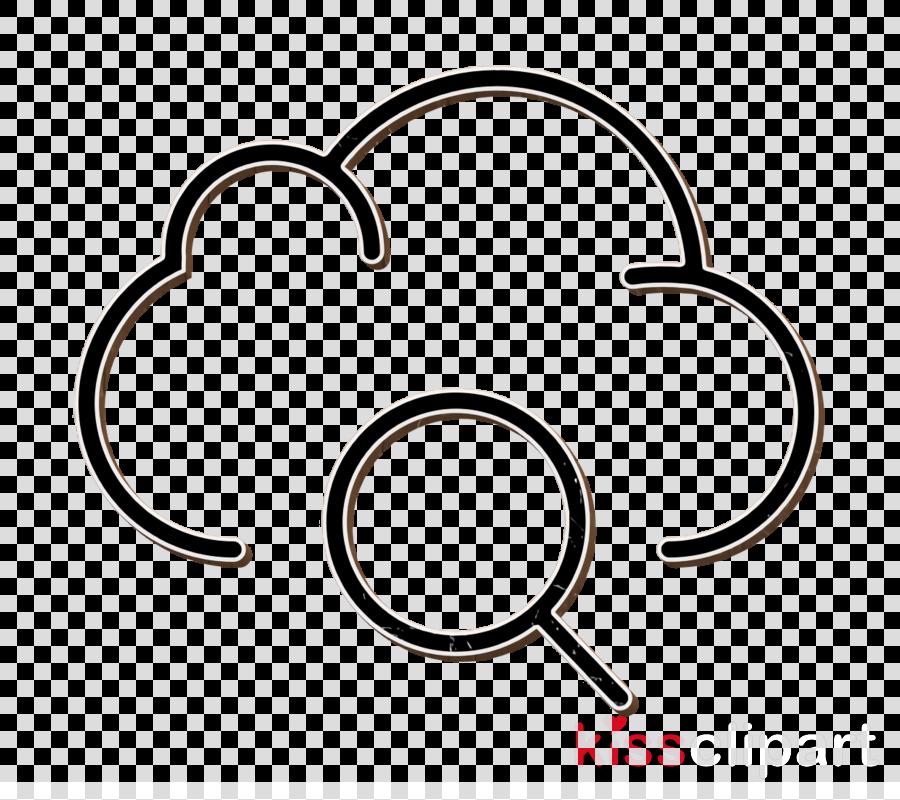 Data icon Interaction Set icon Cloud computing icon