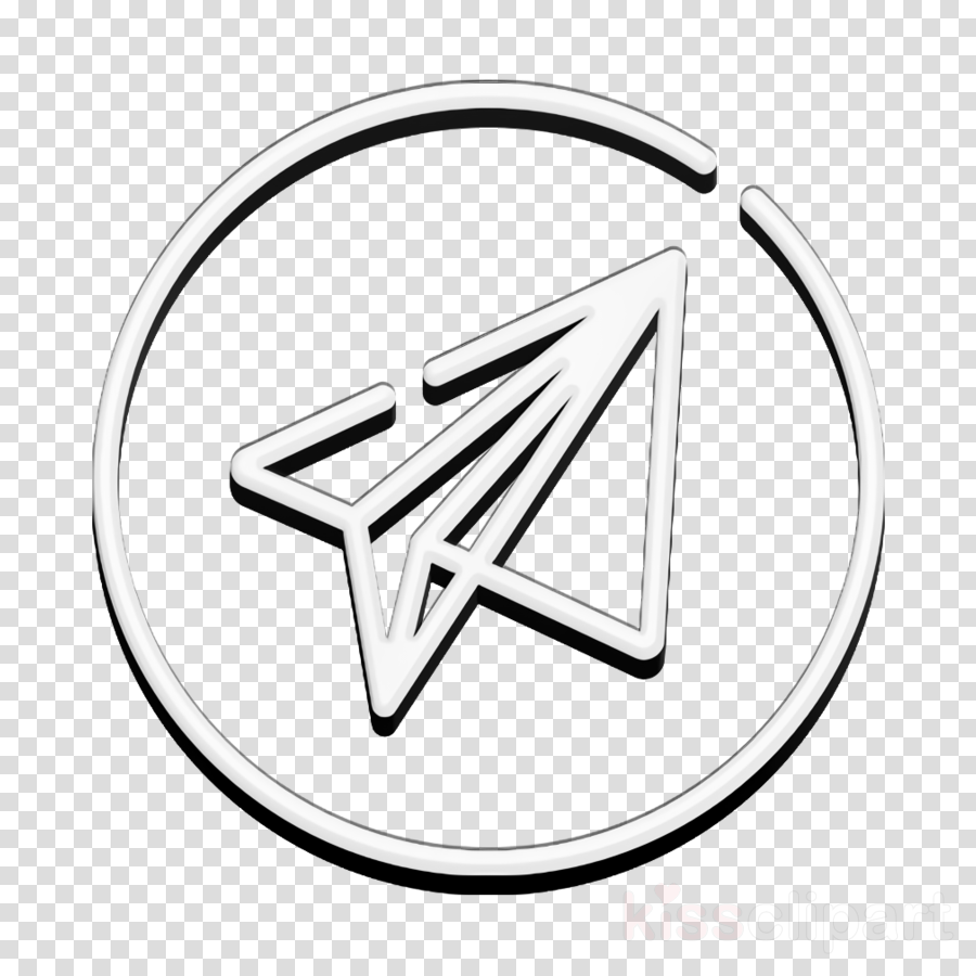 Telegram icon Social media icon