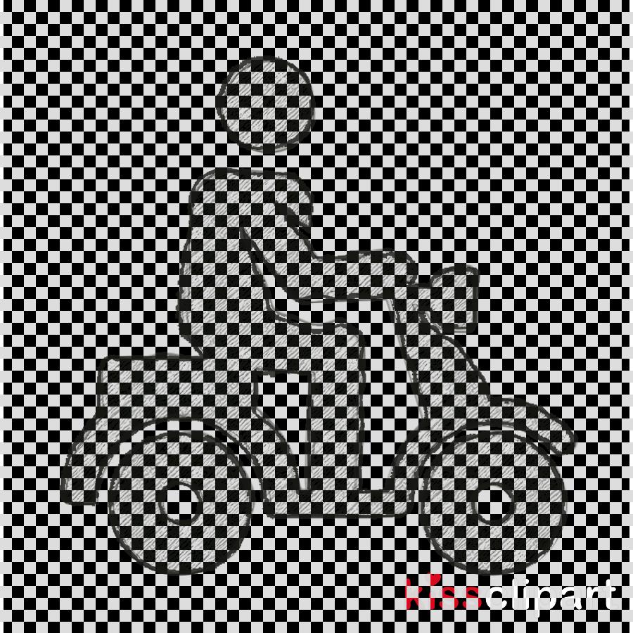 Urban city pictograms icon Scooter icon
