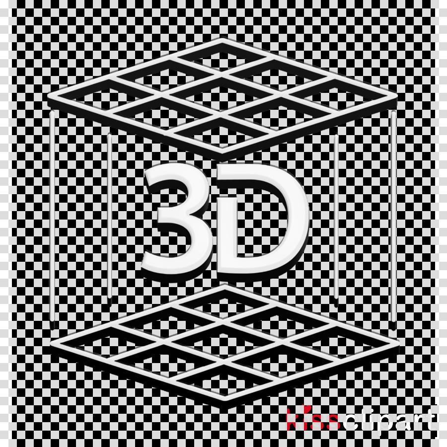 Cube icon interface icon 3D Printer Set icon
