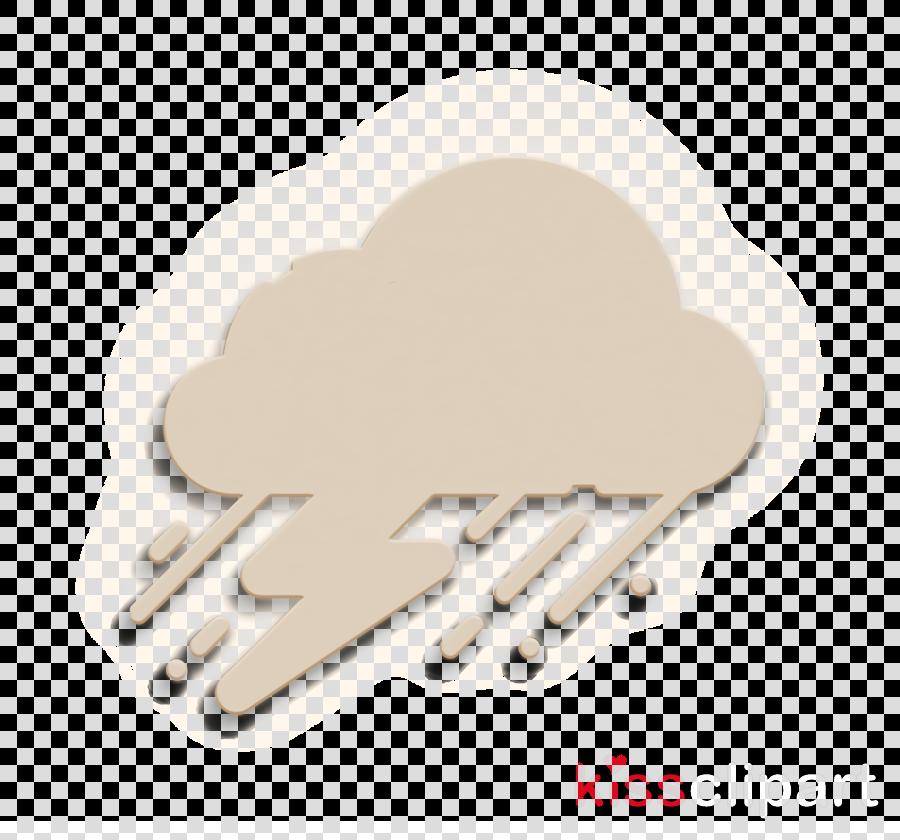 Storm icon Weather icon
