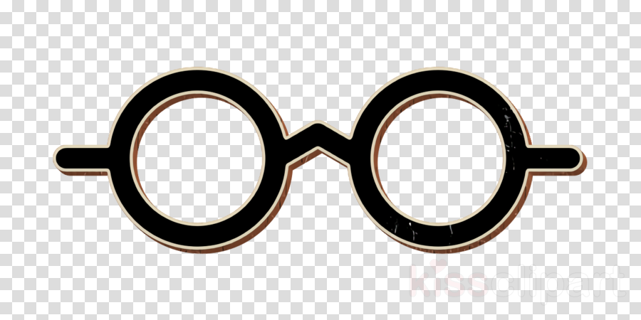 Rounded glasses icon Web application UI icon Vision icon