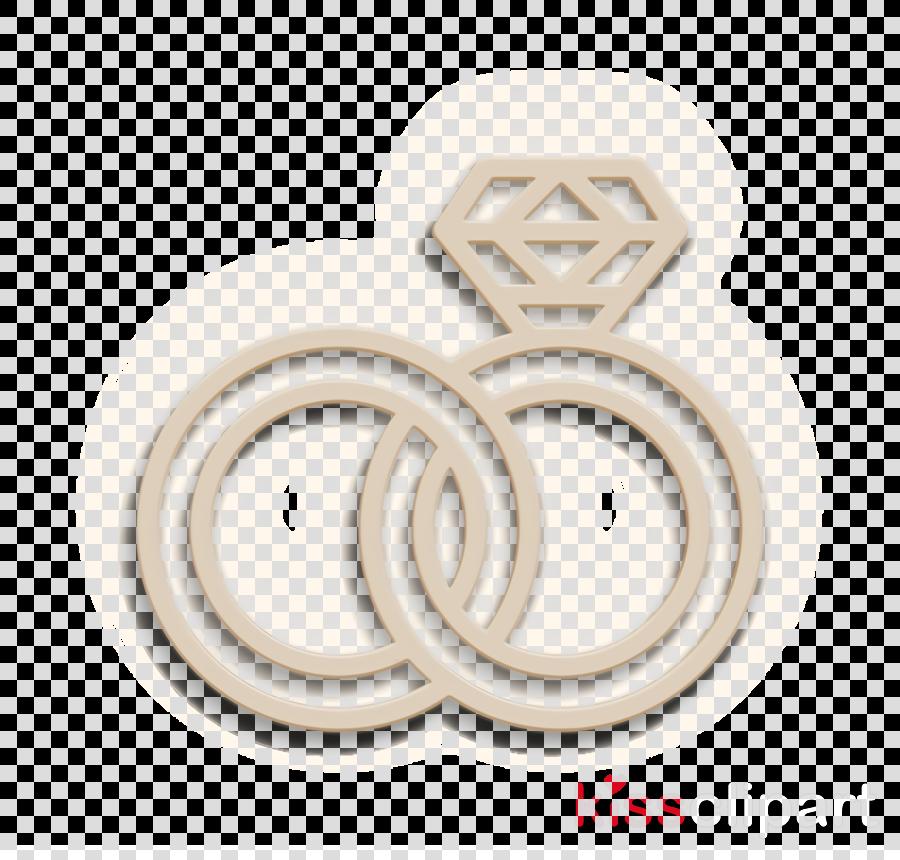 Ring icon Romance lifestyle icon Wedding rings icon