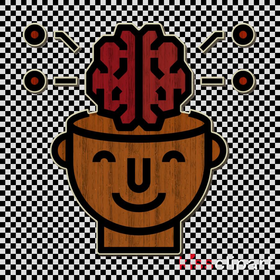 Brain icon Intelligence icon Brain concept icon