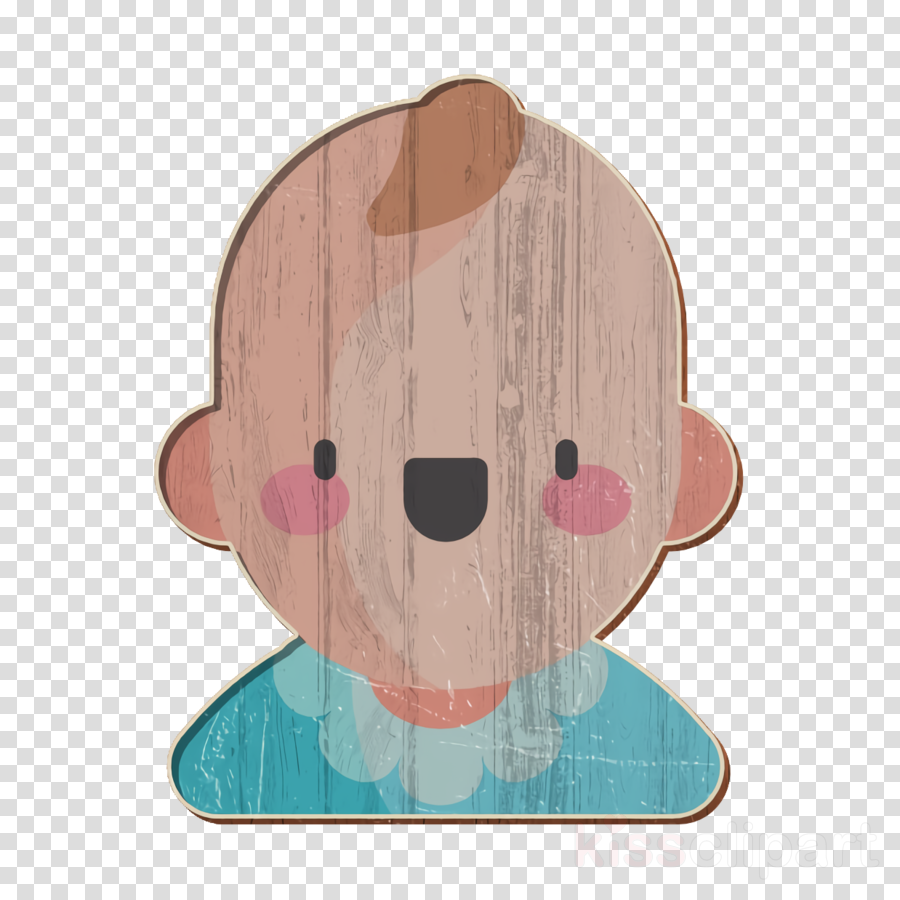 Child icon Baby boy icon Baby Shower icon