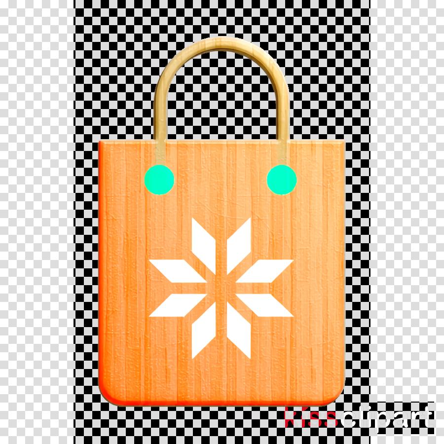 Christmas icon Bag icon Shopping bag icon
