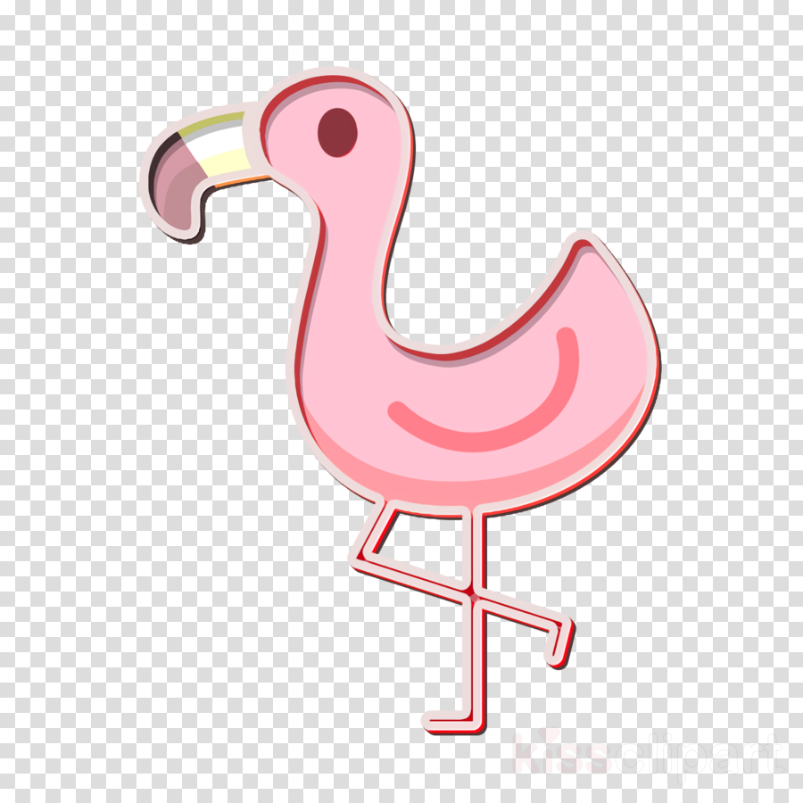 Flamingo icon Animals icon