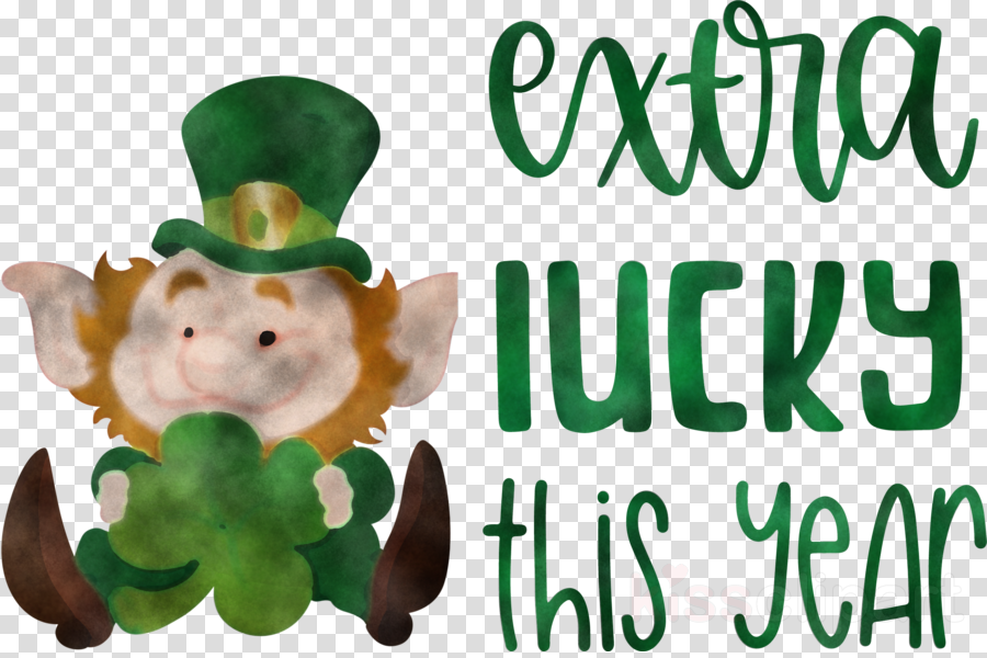 Saint Patrick Patricks Day Extra Lucky