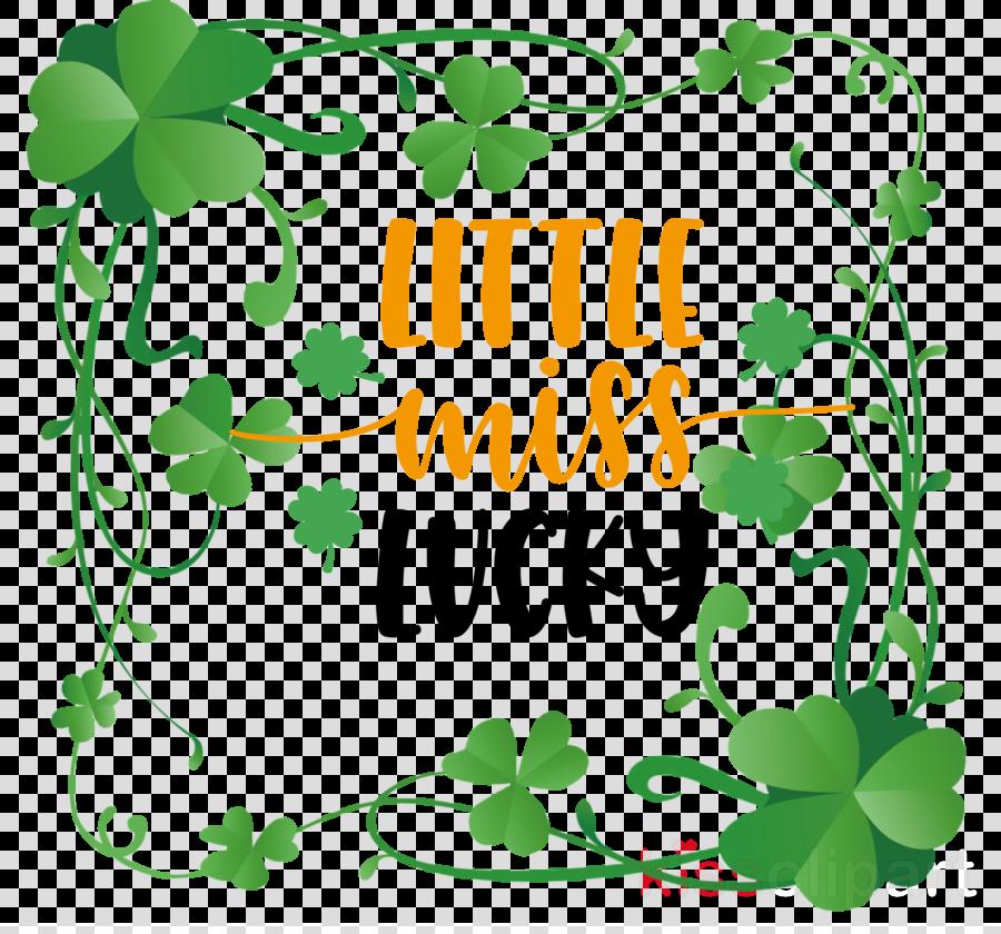 Little miss lucky lucky Patricks Day