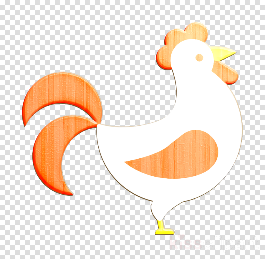 Rooster icon Chinese icon