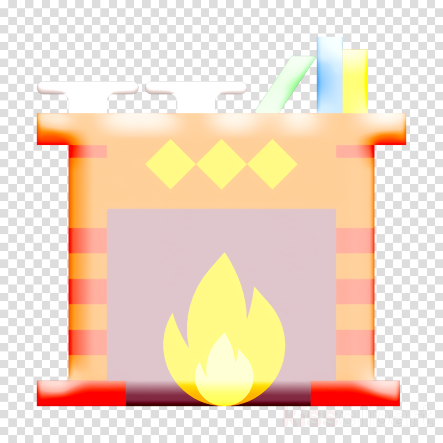 Chimney icon Household Compilation icon Fireplace icon