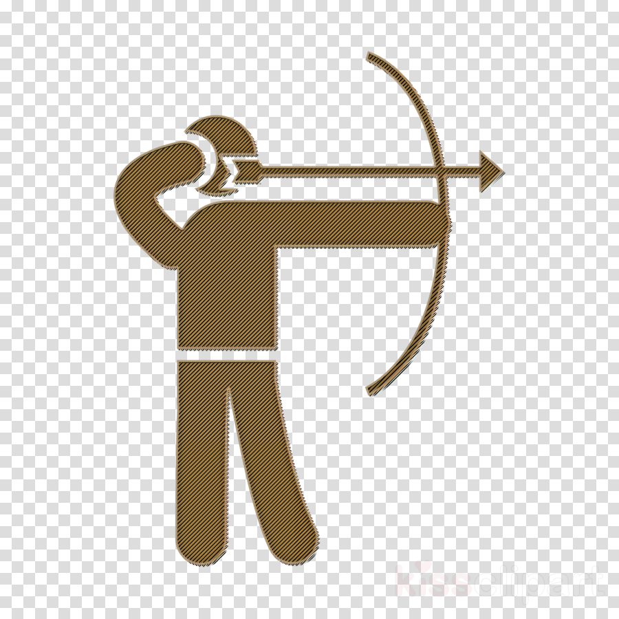 Humans icon Archery skill icon people icon