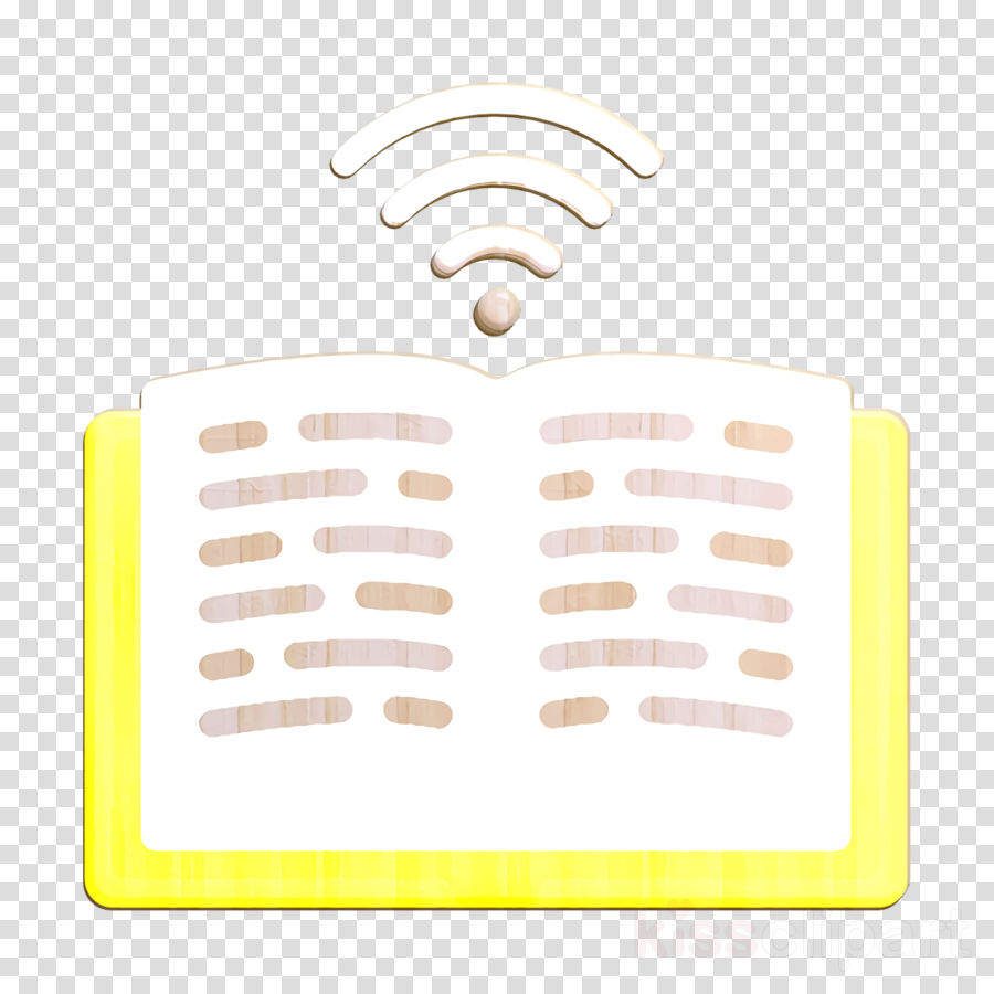 E-Learning icon Open book icon Book icon
