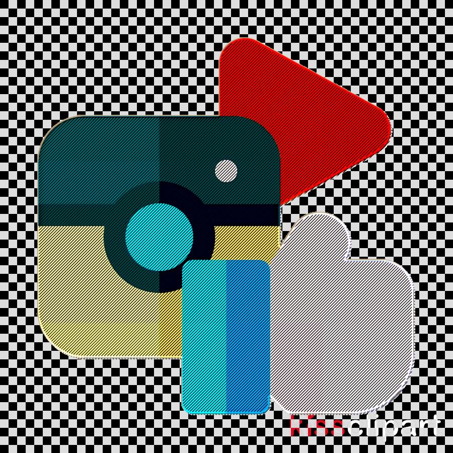 Digital Marketing icon Social media icon Instagram icon