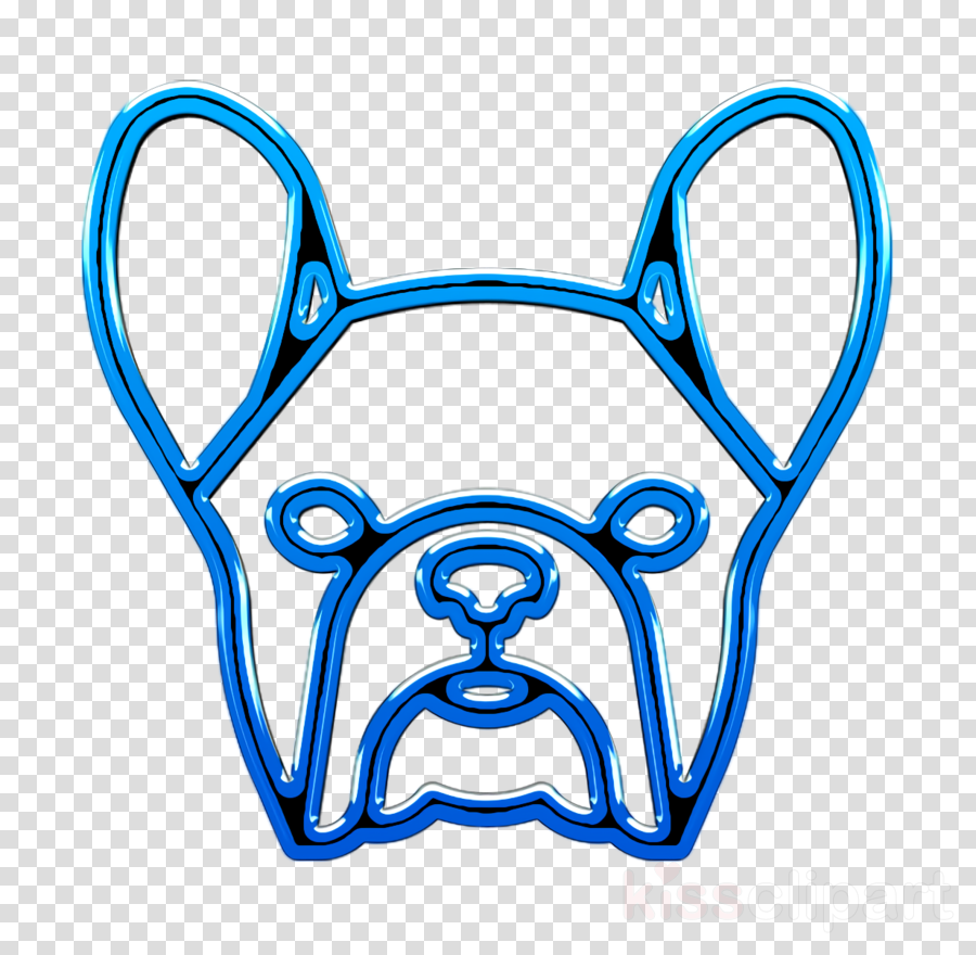 French Bulldog icon Dog icon Dog Breeds Heads icon