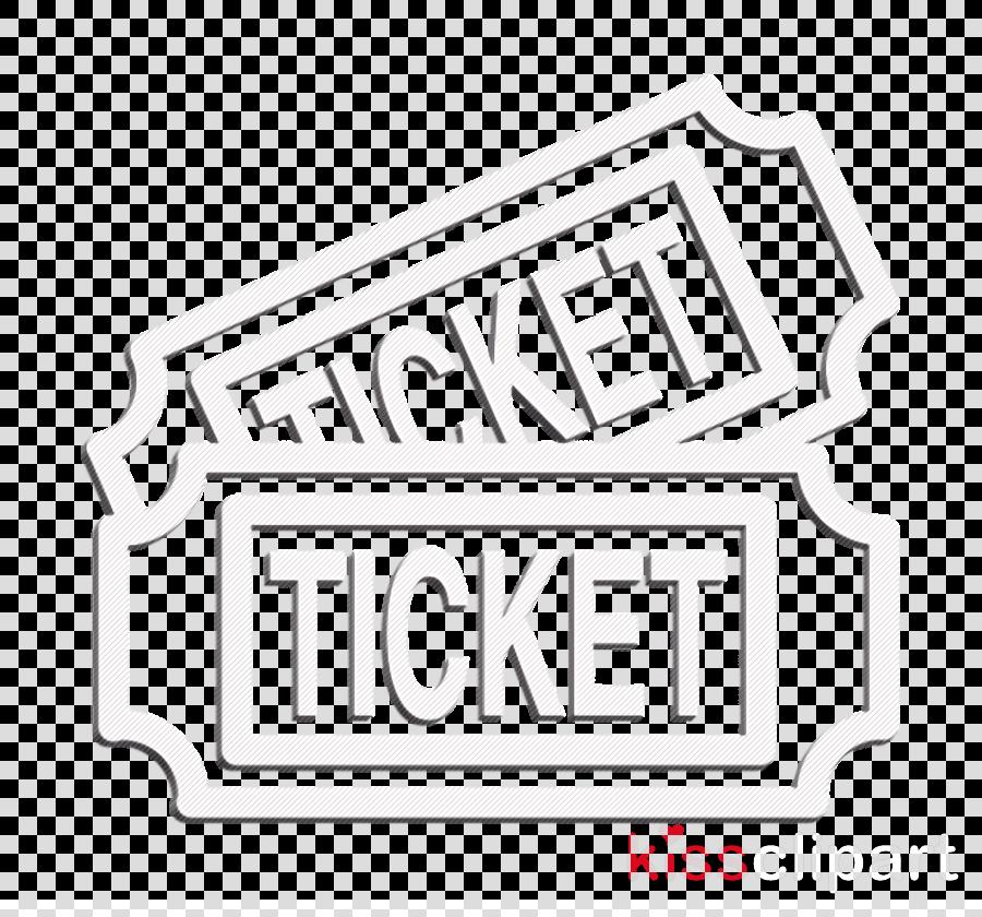 Cinema tickets for a couple icon Ticket icon cinema icon