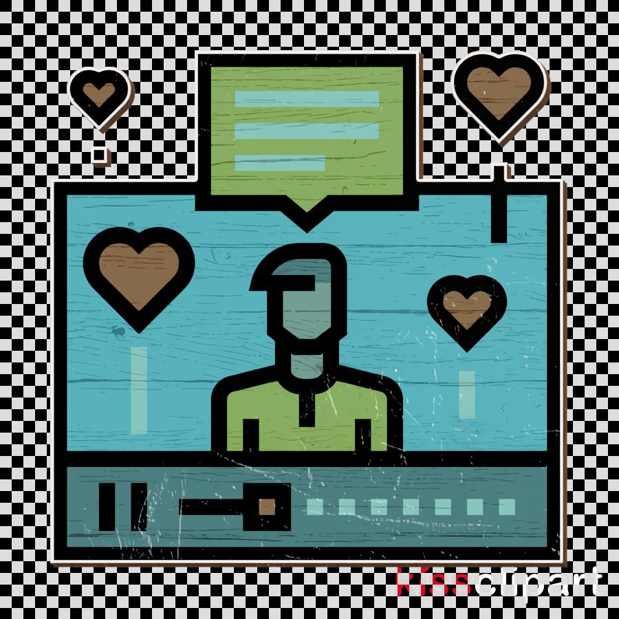 Blogger icon Influencer icon Digital Marketing icon