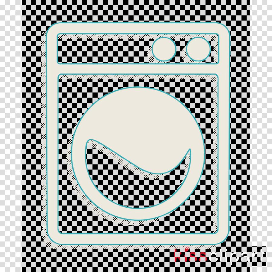 Washing machine icon Tools and utensils icon Wash icon