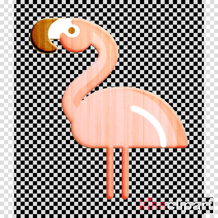 Flamingos icon Flamingo icon In the Zoo icon