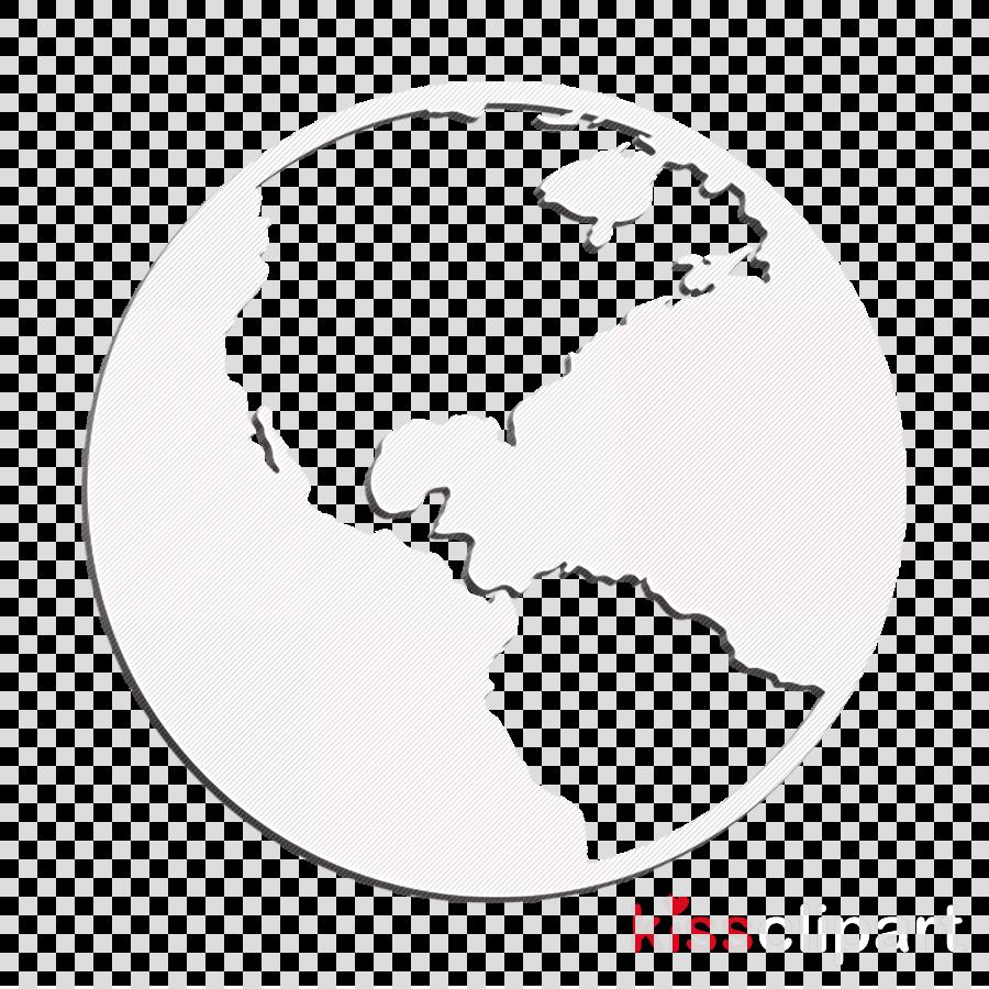 Globe icon Earth icon Pointed Icons icon