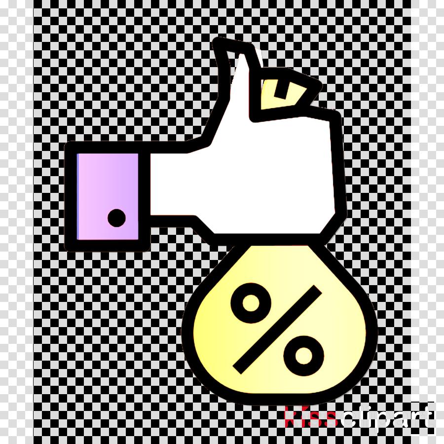 Loan icon Money bag icon