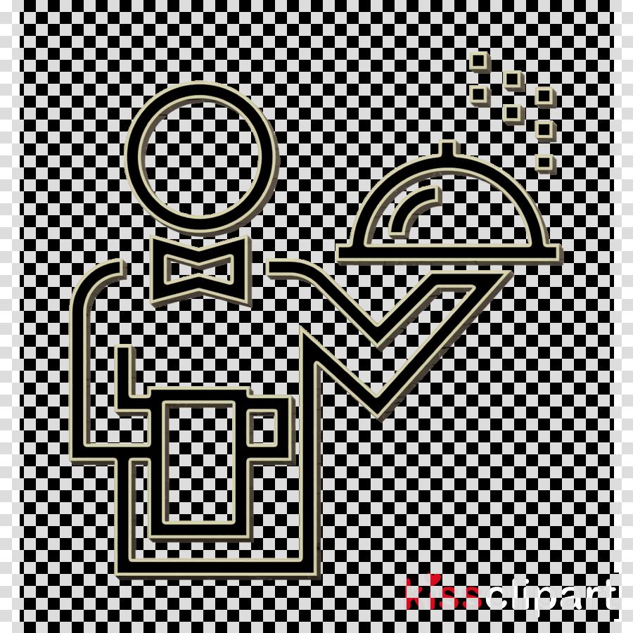 Waiter icon Hotel icon