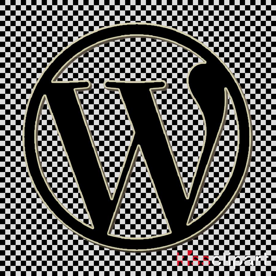 Wordpress logo icon Wordpress icon Admin UI icon