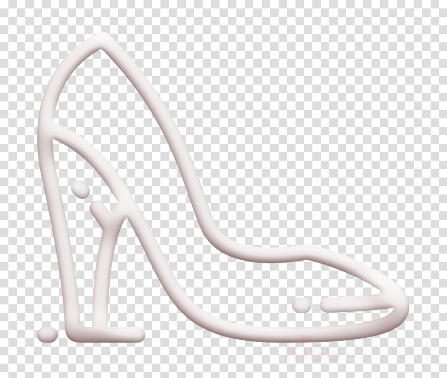 Shoe icon Shopping icon High heels icon